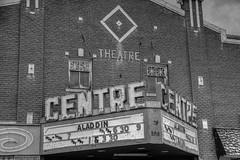 Centre Theatre (ap0013) Tags: montpelier idaho old west oldwest western id montpelieridaho theatre theater bw centre centretheatre