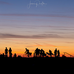 coucher de soleil en ombres chinoises (jeje62) Tags: unesco astrophotography bluehour heurebleue longexposure montsaintmichel night nightphotography nightscape normandie panorama sunset