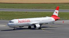 Wien (Treflyn) Tags: austrian airlines airbus a321 321 a321200 oelbf wien vienna schwechat international airport austria landed flight dubrovnik