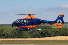 G-GLAA EC135T2+ PLM Dollar Group Prestwick 26.06.19 (Robert Banks 1) Tags: gglaa airbus helicopters ec135t2 ec35 plm dollar group pdg prestwick egpk pik ec135