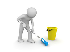 Cleaner at work (d7toastmasters) Tags: 3d bend blue bucket care caretaker cartoon character charlady charwoman clean cleaner cleaning cyan human humanoid janitor job maid male man mop nobody pail people silhouette stoop swab tidy tidying toon unrecognizable wash washing work worker yellow kyiv ukraine