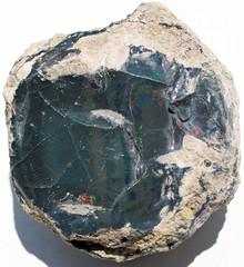 Black precious opal (Tertiary; Wollo Province, Ethiopia) 2