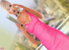 Cheers (alexandra sunny) Tags: lsr kunglers poisonrouge gomakeup senseevent catwa maitreya aviglam elikatira secondlife blog blogger fashion female woman pink