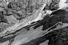 The challenge (Franco-Iannello) Tags: mountainsdolomites landscape people blackwhite blackandwhite