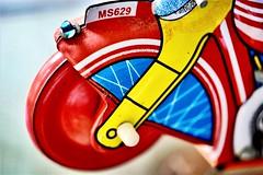Wheeling (helensaarinen) Tags: wheel macromondays toy