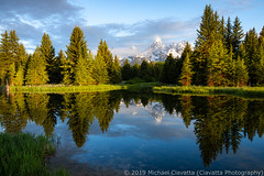 Schwabacher Landing (Ciavatta Photography) Tags: grandtetonnationalpark schwabacherlanding wyoming tetonrange reflection mountains