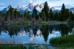 Schwabacher Landing at sunrise (Ciavatta Photography) Tags: grandtetonnationalpark schwabacherlanding wyoming tetonrange reflection mountains