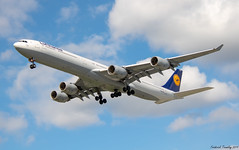 Lufthansa / Airbus A340-642 / D-AIHD / YVR (tremblayfrederick98) Tags: a340