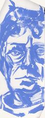2019.02.28 Blue SP (Julia L. Kay) Tags: juliakay julialkay julia kay artist artista artiste künstler art kunst peinture dessin arte woman female sanfrancisco san francisco sketch dibujo selfportrait autoretrato daily everyday 365 self portrait portraiture face dpp dailyportraitproject acrylic acrylics acrylicpaint paint painting paper