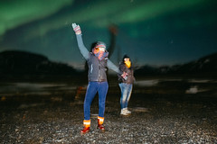 Aurora boreal (Northern Lights) (rul57) Tags: northernlights iceland blur streetphotography