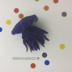 Origami Time! Jellyfish by Chris Heynen 26/52 #おりがみ #夏 #Origami #Paper #Foldedbyme #Foldoftheday #Instaorigami #Summer #Sunday #Jun #29 #2019 #ElParaiso #Caracas #Venezuela #くらげ #日本 #中國 #대한민국 #Uk #Deutsche #Россия #Ελλάς #chicoquick (chicoquick) Tags: おりがみ 夏 origami paper foldedbyme foldoftheday instaorigami summer sunday jun 29 2019 elparaiso caracas venezuela くらげ 日本 中國 대한민국 uk deutsche россия ελλάσ chicoquick
