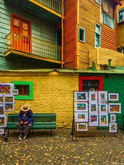 La esencia de La Boca (Eugercios) Tags: buenos aires buenosaires la boca laboca america sudamerica southamerica iberoamerica latinamerica latinoamerica hispanoamerica color colors colores artist artista picture art arte arquitectura architecture travel authentic argentina