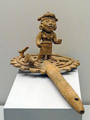 Flauta con guerrero ceramica cultura Maya Museo de America Madrid (Rafael Gomez - http://micamara.es) Tags: flauta con guerrero ceramica cultura maya museo de america madrid