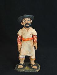 Mexico Ceramic Figurine Aguilar Oaxaca (Teyacapan) Tags: demetriogarciaaguilar pottery oaxaca ocotlan mexican hombre man trajes