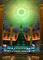 Wat Paknam Phasi Charoen (toastal) Tags: bangkok talatphlu thailand watpaknamphasicharoen alien interior moodlighting otherworldly panorama peaceful temple wat