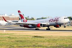 CYVR - Air Canada Rouge B767-300 C-FMLV (CKwok Photography) Tags: yvr cyvr aircanada rouge b767 cfmlv