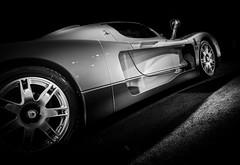 MC12 (Dave GRR) Tags: maserati mc12 sportscar supercar hypercar exoticcar toronto auto show 2019 monochrome mono black white olympus