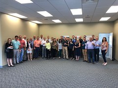 Becknell Stop Group Photo - 2019 NAIOP Bus Tour