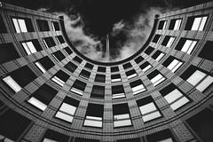 Elberfeld B&W (The Urban Xplorer) Tags: elberfeld fotografie gebäude himmel kreis kuppel muster schwarzundweis stil stockfotografie symmetrie tageslicht turm wuppertal diearchitektur einfarbig monochromefotografie schwarz