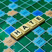 """Close up shot of """"Hate"""" word on scrabble board"""