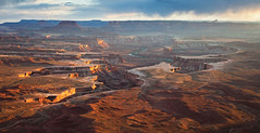 Stormy Sunset at Green River Overlook, Utah (Svendavidulmer) Tags: sunset unitedstates canyonlandsnationalpark canyons coloradoplateau fourcorners greenriveroverlook lnadscape scenics southwest stormclouds whiterim