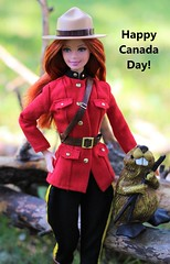 Canada Day 2019 (Annette29aag) Tags: barbie doll dollphotography canadaday dollsoftheworld canada beaver