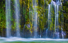 Mossbrae Falls - California - USA (~ Floydian ~) Tags: henkmeijer photography floydian mossbraefalls waterfall waterfalls california dunsmuir sacramentoriver american leefilters leelittlestopper landscapes landscape canon canon5dmarkiv