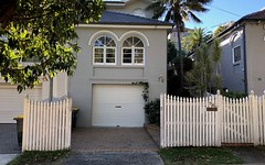 76 Onslow Street, Rose Bay NSW