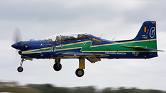Super Tucano (Bernie Condon) Tags: uk brazil tattoo plane flying team display aircraft aviation military airshow brazilian trainer airfield ffd embraer fairford riat raffairford airtattoo supertucano smokesquadron brazilianairforce emb314
