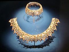 Jaipur Jewels (greenvale1994) Tags: jaipur royalontariomuseum emerald diamond gems jewels jewelry gold india museum exhibit