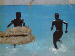 Tel Aviv Beach Scene (arie hirsh) Tags: telaviv beach concretecancer beachscene ariehirshphotographer 2001