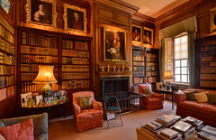 Antony House, Torpoint, Cornwall - library - Explored (Baz Richardson (trying to catch up!)) Tags: cornwall antonyhouse nationaltrust countryhouses queenannearchitecture torpoint england uk explored