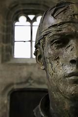 « Le visage est le miroir du cœur. ». (In Explore 02.07.19) (OGNB) Tags: canon6dmarkii chartres statue bronze charbonnel sculpture