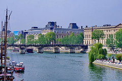 77 - Paris Mai 2019 - le Louvre et le Pont des Arts (paspog) Tags: paris france mai may 2019 seine îledelacité louvre pontdesarts