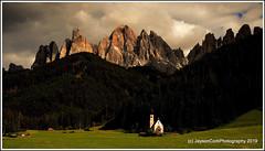 Val di Funes (JaysonCork) Tags: nikon jaysoncorkphotography stjohn landscape clouds villnoss southtyroll dolomites italian italy church ranui stjohann valdifunes odlemassif