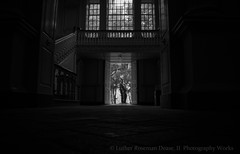 (Luther Roseman Dease, II) Tags: monochrome light bw noireetblanc humanelement contrast contrejour chiaroscuro lowkey framing lines depth darkened composition form fotografie photography atmosphere mood silhouette room streetphotography angle window doorway perspective seen stairwell negroyblancofotografie dof blackwhite blackandwhite shadows