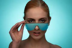 Beth (englishgolfer) Tags: portrait studio woman nikon d7500 tamron 70200mm blue