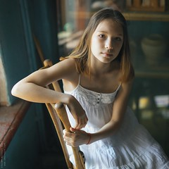 Vasya. (matveev.photo) Tags: girl light young sunlight teen teenage matveev portrait art hands shadow white window eyes
