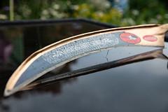 New Lawnmower (Pittypomm) Tags: scythe blade rasierschnitt metal sharp