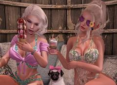 The 3 Beach Girls (nannja.panana) Tags: blackbantam adorsy cncreations catwa cosmopolitan gaeg hangry kustom9 letredoux maitreya nannjapanana tmp uber vagrant vango zerkalo