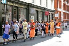 Walk Against Hunger London 29.06.2019 - ISKCON-London Radha-Krishna Temple - 29/06/2019 - IMG_3217 (DavidC Photography 2) Tags: 10 soho street london w1d 3dl iskconlondon radhakrishna radha krishna temple hare harekrishna krsna mandir england uk iskcon internationalsocietyforkrishnaconsciousness international society for consciousness walk against hunger charity sponsored feed homeless buy new ev electric vehicle van free food prasadam distribution all life saturday 29 29th june summer 2019 hottest day year 34 degrees c 34c centigrade celcius 29062019 londonreviewbookshop review book shop bookshop rubber blade stamps