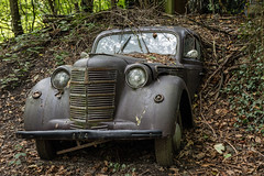 Travellers of Time (maxmene70) Tags: old car rusty canon abandoned decay urbex traveller travel tripod sigma landscapa landscape nature foliage