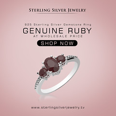 0.85ctw Genuine Ruby & .925 Sterling Silver Gemstone Ring (SterlingSilverJewelry1) Tags: silverring wholesalejewelry jewelrymaking ring engagementring jewelrydesigner ringdesign weddingring bridetobe julybirthstone bloodred rubyjewelry rubyring highjewelry newmonth ruby oneofakind gemstones gemstonejewelry cutgemstones handcrafted madeinamerica paris cityoflove giftsforloveonce sparkle wedding bride antiquejewelryaddiction jewelryaddict vintagering rotd