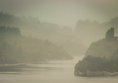 """Misty morning"" (Terje Helberg Photography) Tags: coast fog landscape mist misty nature sea seascape water"