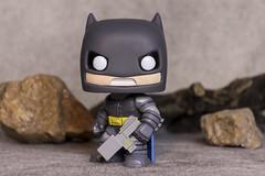 Batman in the Batcave (DayBreak.Images) Tags: tabletop toy batman funkopop rocks canondslr meyeroptic 50mm trioplan ringlight lightroom