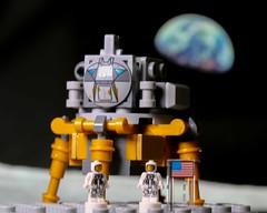 Moon Landing (FinnsBricks) Tags: lego legophotography toys toyphotography moon