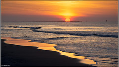 Sunrise, Huntington Beach State Park, SC -Explored- DSC_9296 (blindhogmike) Tags: nature beach sunrise sun waves sand surf landscape landscapes breathtakinglandscapes dunes sea light shadow ocean color water sky blue clouds summer outside seascape coast nikon dawn d7200