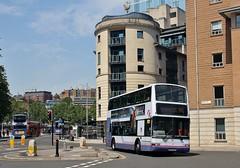 LN51 GKY, First Dennis Trident 33064, Bristol, 29th. June 2019. (Crewcastrian) Tags: bristol buses transport first dennistrident ln51gky 33064 plaxton president