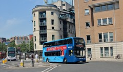 YX66 WEC, First ADL Enviro 33938, Bristol, 29th. June 2019. (Crewcastrian) Tags: bristol buses transport first dennis alexander enviro yx66wec 33938