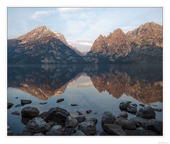 Morning Time at Jenny Lake (John Cothron) Tags: 3stopsoftedgegraduatedneutraldensityfilter 5dclassic 5dc alta americanwest cothronphotography distagon2128ze distagont2821ze georgiaphotographer grandtetonnationalpark interiorwest jennylake johncothron lee90gs leefiltersystem mountainstates mountainwest northwest thewest us usa usaphotography unitedstatesofamerica westernregion wyoming zeissdistagont2821ze calm clearsky lake lakeshore landscape morninglight mountain nature outdoor reflection reservoir rock serene sky summer sunny sunrise tranquil travel water img02057110914coweb712019 johncothron2011 morningtimeatjennylake